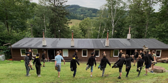 Skautsá chata Modřenka